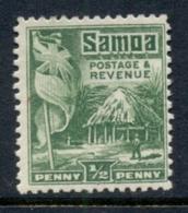 Samoa 1921 House & Flag 0.5d MLH - Samoa