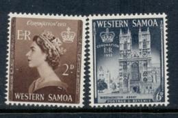 Samoa 1953 Coronation MUH - Samoa