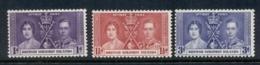 Solomon Is 1937 Coronation MUH - Solomon Islands (1978-...)