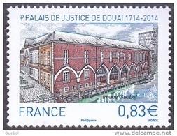 France N° 4902 ** Palais De Justice De Douai - Francia