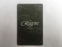 Regent Bingjing - Hotel Keycards