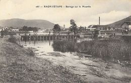 F - Raon-l'Etape (Vosges) - Barrage Sur La Meurthe, Pêcheurs - Edition L. Cuny - Carte N° 265 - Raon L'Etape