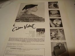 ANCIENNE  PUBLICITE CATALOGUE LE CADEAU VOLANT 1954 - Habits & Linge D'époque