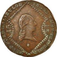 Monnaie, Autriche, Franz II (I), 15 Kreuzer, 1807, Schmollnitz, TB+, Cuivre - Autriche