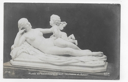 (RECTO / VERSO) PARIS - N° 10 - MUSEE DU LUXEMBOURG - CRAUK - JEUNESSE ET AMOUR - CPA NON VOYAGEE - Museums