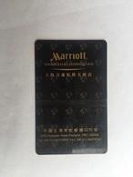 Marriott Hotel Shanghai With Scratch - Hotel Keycards