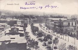 CPA - VALPARAISO - Avenida Brasil - Chili