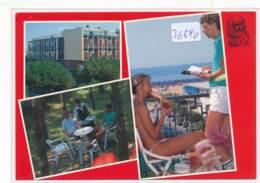 CPM GF -36640-Italie - Bibione Spiaggia - Multivues Hotel Leonardo Da Vinci - Altre Città