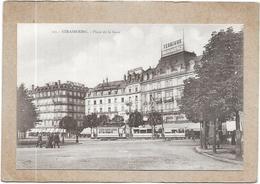 STRASBOURG - 67 -   Place De La Gare - TRAMWAYS Au 1er Plan  - DELC5/ENCH - - Strasbourg