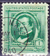 USA - Washington Irving (MiNr: 455) 1940 - Gest Used Obl - United States