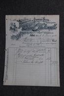 Facture Ancienne - ALBI , Manufacture De Chapeaux De Feutre, Paul SUBREVILLE - Textile & Vestimentaire