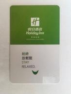Holiday Inn  HongKong - Hotel Keycards