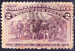 USA - Landung Von Kolumbus In Amerika (MiNr: 74) 1893 - Gest Used Obl - 1847-99 Emissioni Generali