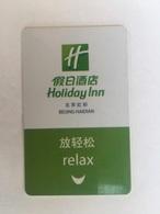 Holiday Inn  Beijing - Hotel Keycards