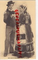 29- QUIMPER - MARIES  MARIAGE - ETUDE DE COSTUMES  FOLKLORE COIFFE - Quimper