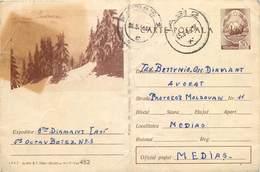 D1432 Postal Stationery Postcard Romania 1966 - Roemenië