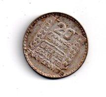20 Francs Turin De 1929 -voir état - - France