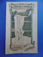 LUNEL PROGRAMME FETES HENRI DE BORNIER 1912 - Programme