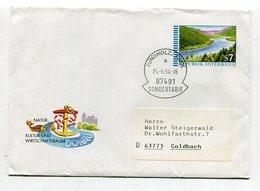 Oesterreich / 1994 / Ganzsachenumschlag Stempel JUNGHOLZ-SONDERTARIF Nach Deutschland (26152) - Stamped Stationery