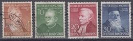 BRD 1952 - Mi.-Nr. 156-159 - Usati