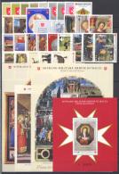 SMOM 2007 Annata Completa/Complete Year MNH/** VF - Sovrano Militare Ordine Di Malta