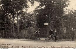 COEUILLY.  Angle De La Rue Du Plessis-Trévise Et De La Rue Des Chrysanthèmes.  2 Scans  TBE - Champigny Sur Marne