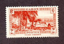 Gabon N°142 N* TB Cote 65 Euros !!! - Neufs