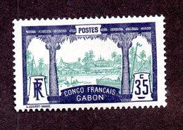 Gabon N°41 N* TB Cote 30 Euros !!! - Gabon (1886-1936)