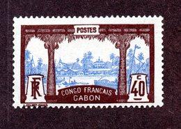 Gabon N°42 N* TB Cote 40 Euros !!! - Nuevos