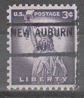 USA Precancel Vorausentwertung Preo, Locals Wisconsin, New Auburn 841 - Vereinigte Staaten
