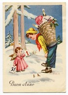 Buon Anno Bonne Annee Prosit Neujahr Happy New Year Enfant Cadeaux - Anno Nuovo