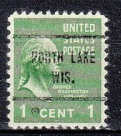 USA Precancel Vorausentwertung Preo, Locals Wisconsin, North Lake 713 - Vereinigte Staaten