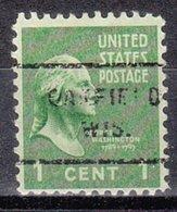 USA Precancel Vorausentwertung Preo, Locals Wisconsin, Oakfield 712 - Vorausentwertungen