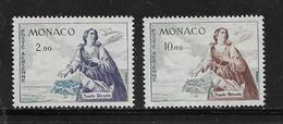 Monaco PA De 1960/61 N°73 Et 78  Neuf ** - Aéreo
