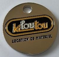 Jeton De Caddie - KILOUTOU - Location De Matériel - En Métal - Neuf - - Trolley Token/Shopping Trolley Chip