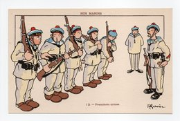 - CPA GERVESE (illustrateurs) - Premières Armes - Série NOS MARINS N° 12 - - Gervese, H.