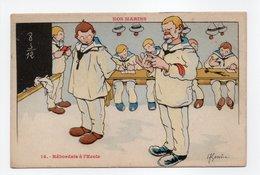 - CPA GERVESE (illustrateurs) - Râbordais à L'Ecole - Série NOS MARINS N° 14 - Edition Raffaelli - - Gervese, H.