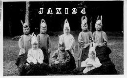 PHOTOGRAPHIE ORIGINALE 1933 CENTENAIRE INSTITUT N.D. DE LARNAY POITIERS Vienne (86) JEUNES PENSIONNAIRES - Lieux