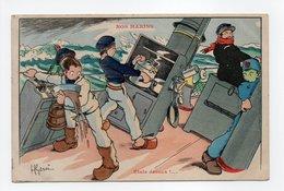 - CPA GERVESE (illustrateurs) - Etale Dessus !... - Série NOS MARINS - Edition Raffaelli - - Gervese, H.