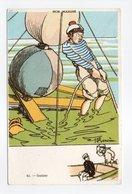 - CPA GERVESE (illustrateurs) - Gabier - Série NOS MARINS N° 41 - - Gervese, H.