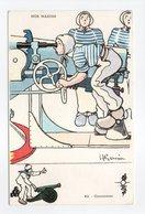 - CPA GERVESE (illustrateurs) - Canonnier - Série NOS MARINS N° 42 - - Gervese, H.