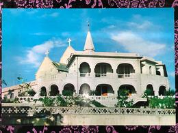 MACAU PENHA CHURCH POST CARD - PRIVATE PRINTING - Cartes Postales