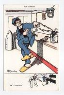 - CPA GERVESE (illustrateurs) - Torpilleur - Série NOS MARINS N° 44 - - Gervese, H.