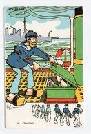 - CPA GERVESE (illustrateurs) - Chauffeur - Série NOS MARINS N° 49 - - Gervese, H.