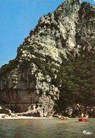 07 - ARDECHE - Les Gorges De L'Ardèche. La Descente Des Gorges En Barque - Non Classés