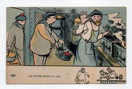 - CPA GERVESE (illustrateurs) - La Lutte Pour La Vie - Edition Le Deley - - Gervese, H.