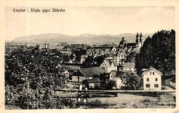 Kempten,  Gesamtansicht Gegen Südosten, Um 1910/20 - Kempten