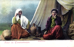 "Constantinople, ""Bohemiennes"", Um 1900/05 - Türkei"