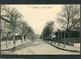 CPA - CORBEIL - Avenue Darblay - Corbeil Essonnes