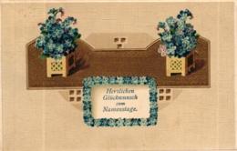 Namenstag, Blumen, Vergiss Mein Nicht, 1911 - Ohne Zuordnung